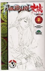Witchblade Takeru Manga #2 Wizard World LA Sketch Variant